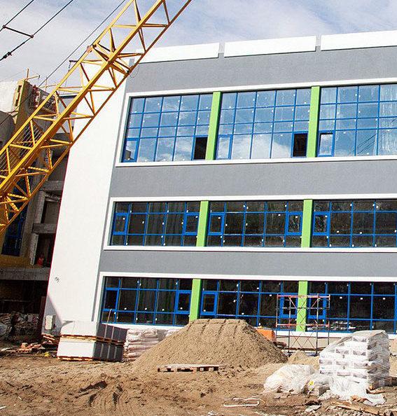 Строительство объектов образования
