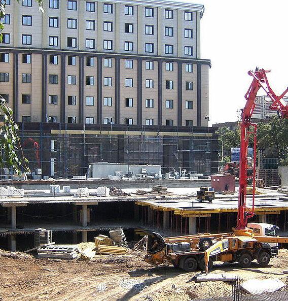 Строительство парковочных комплексов