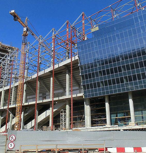 Строительство торг центров